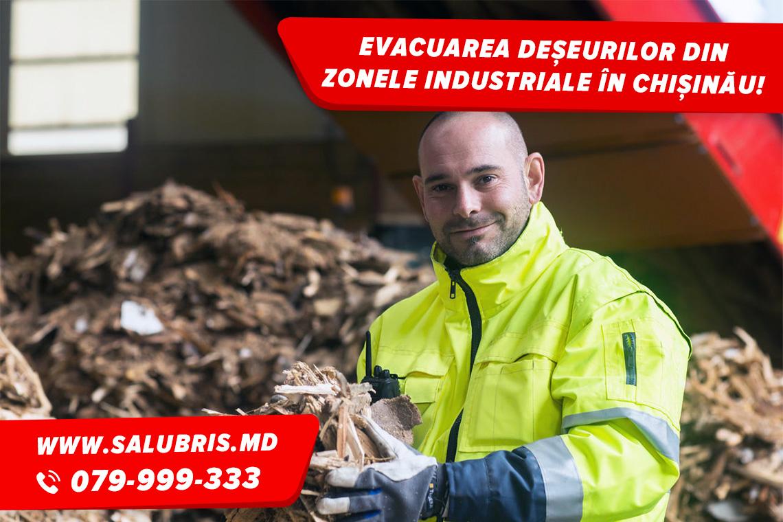Evacuarea deșeurilor industriale în Chișinău